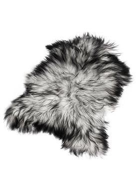The Organic Sheep - Fåreskind - Sheepskin - Longhair natural gray