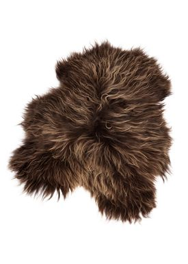 The Organic Sheep - Fåreskind - Sheepskin - Longhair brown