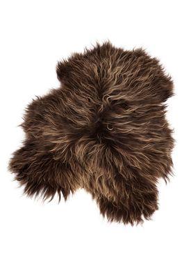 The Organic Sheep - Fåreskind - Sheepskin - Longhair brown