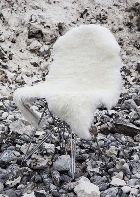 The Organic Sheep - Fåreskind - Sheepskin - Longhair white
