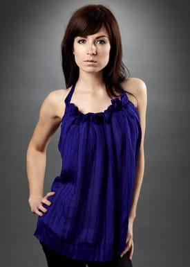 Tina Casmose - Top - Imonti - Blue