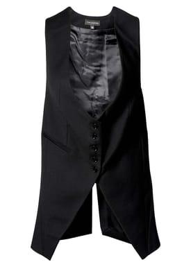 Tina Casmose - Vest - Umay - Black