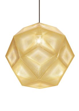 Tom Dixon - Pendants - Etch Mini Pedant - Soft Silver