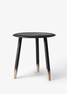 &tradition - Bord - Hoof Table- SW1 - Sortbejdset eg