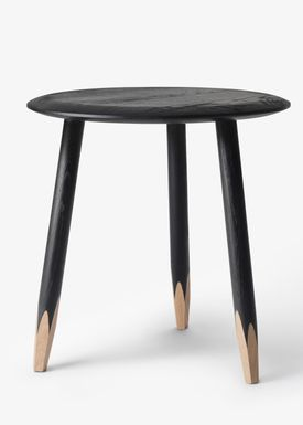 &tradition - Bord - Hoof Table / SW1 / SW2 - Sortbejdset eg / SW1