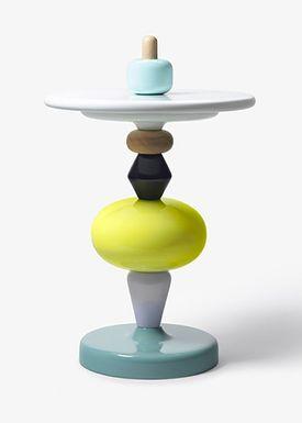 &tradition - Bord - Shuffle Table - Multi farvet