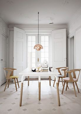 &tradition - Bord - Table- NA2 - Hvid lamineret