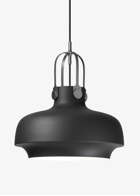 &tradition - Lampe - Copenhagen Pendant - SC6 / SC7 / SC8 - Mat Sort - Medium - SC7