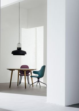 &tradition - Lampe - Copenhagen Pendant - SC6 / SC7 / SC8 - Mat Sort - Large - SC8