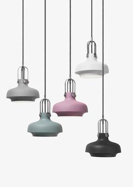 &tradition - Lampe - Copenhagen Pendant - SC6 / SC7 / SC8 - Mat Sort - Small - SC6