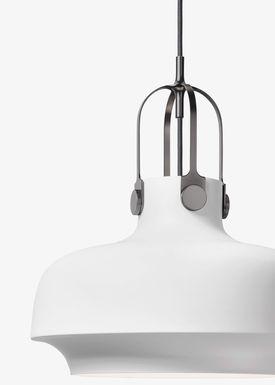 &tradition - Lampe - Copenhagen Pendant - SC6 / SC7 / SC8 - Mat Hvid - Medium - SC7