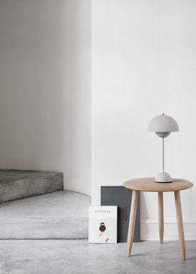 &tradition - Lampe - Flowerpot Table Lamp VP3 - Grå - Mat