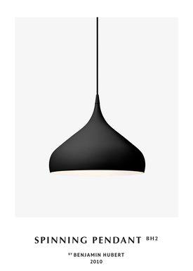 &tradition - Lampe - Spinning Pendant Lamp - BH2 - Matt Black