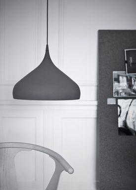 &tradition - Lampe - Spinning Pendel BH2 - Mat Grå