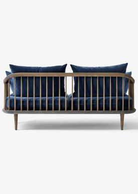 &tradition - Sofa - Fly Sofa / SC2 / SC3 / SC12 - Smoked oiled oak with harald 2 / SC2