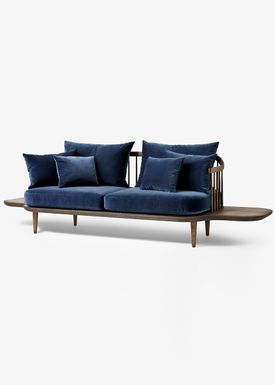 &tradition - Sofa - Fly Sofa / SC2 / SC3 / SC12 - Smoked oiled oak with harald 2 / SC3