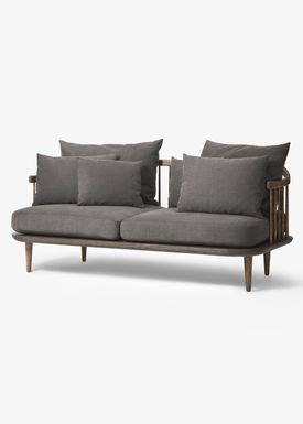 &tradition - Sofa - Fly Sofa / SC2 / SC3 / SC12 - Smoked oiled oak with hot madison / SC2