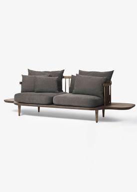 &tradition - Sofa - Fly Sofa / SC2 / SC3 / SC12 - Smoked oiled oak with hot madison / SC3