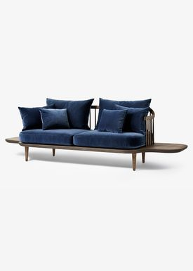 &tradition - Sofa - Fly Sofa with side tables - Smoked oiled oak with harald 2