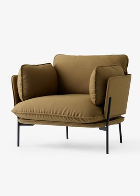 &tradition - Stol - Cloud One Seater - Valgfrit stof