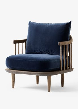 &tradition - Stol - Fly Chair / SC1 / SC10 - Smoked oiled oak with harald 2 / SC10