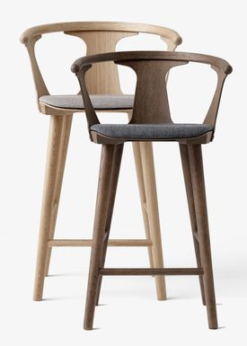&tradition - Stol - In Between Barstool / SK7 / SK8S / K9 / SK10 - Black, White or Smoked oak