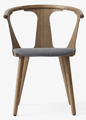 &tradition - Stol - In Between Chair / SK1 / SK2 - Smoked oiled oak with Fiord 171 / SK2