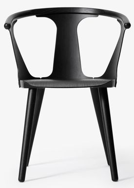 &tradition - Stol - In Between Chair / SK1 / SK2 - Black lacquered oak / SK1