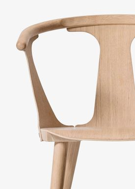 &tradition - Stol - In Between Chair / SK1 / SK2 - White oiled oak / SK1