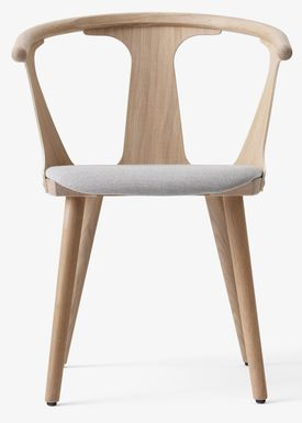 &tradition - Stol - In Between Chair / SK1 / SK2 - White oiled oak with Fiord 251 / SK2