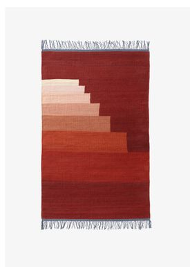 &tradition - Tæppe - Another Rug - Red Vulcano