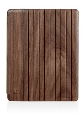 Miniot - Cover - iPad MK2 Wood - Walnut