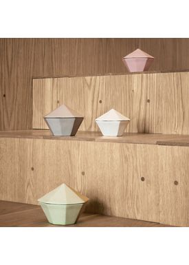 Ferm Living - Krukke - Treasure Diamond Large - Mint