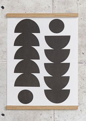 Seventy Tree - Poster - Tropical 30X40 - Sort