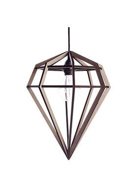 Tvåfota Designduo - Lampe - Döden Lampe (Raw) - Large - Lysegrå