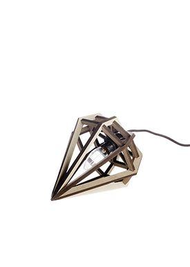 Tvåfota Designduo - Lampe - Döden Lampe (Raw) - Small - Lysegrå