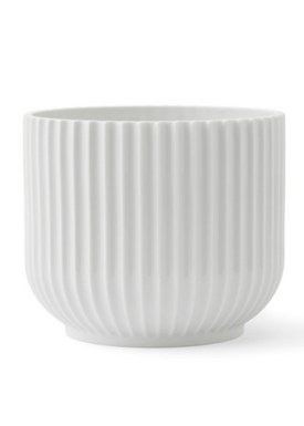 - Flowerpot - Flower Pot - White Medium