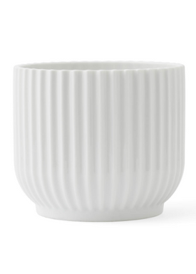 - Flowerpot - Flower Pot - White Small