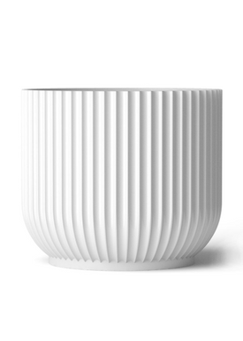 - Flowerpot - Flower Pot - White Large