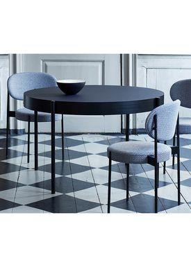 Verpan - Bord - 430 Table by Verner Panton - Black Linoleum