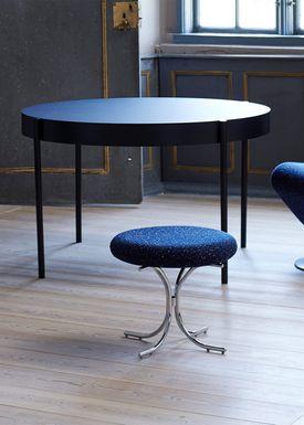 Verpan - Bord - 430 Table by Verner Panton - Blue Linoleum