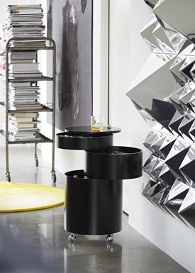 Verpan - Table - BarBoy by Verner Panton - Black