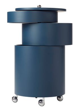 Verpan - Table - BarBoy by Verner Panton - Blue