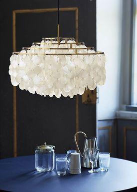 Verpan - Lampe - FUN 10DM - Brass - Jubilæumsmodel - Messing - Ø57