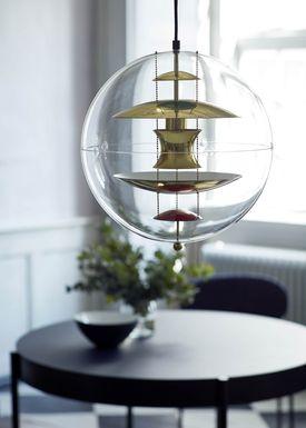 Verpan - Lamp - VP Globe - Jubilæumsmodel - Brass / Gold