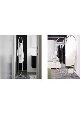 Verpan - Spejl - System 1-2-3 Mirror by Verner Panton - Chrome