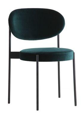 Verpan - Stol - 430 Stacking Chair by Verner Panton - Green Velvet - Harald 2 / 982
