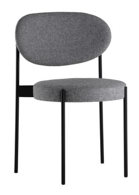Verpan - Chair - 430 Stacking Chair by Verner Panton - Grey - Hallingdal 65 / 130