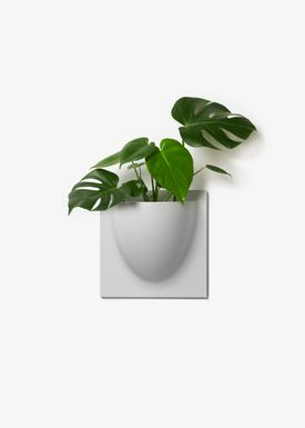 VertiPlants - Hanging Objects - Wallpot - Grey / Mini
