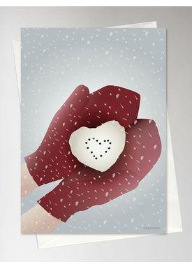 ViSSEVASSE - Kort - Snow Heart - Snow Heart